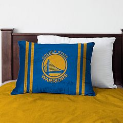 Pegasus Golden State Warriors Standard Bed Pillow with Microfiber Cover