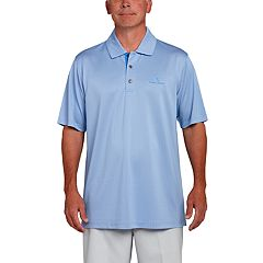 Men's Pebble Beach Classic-Fit Broken Jacquard Performance Golf Polo