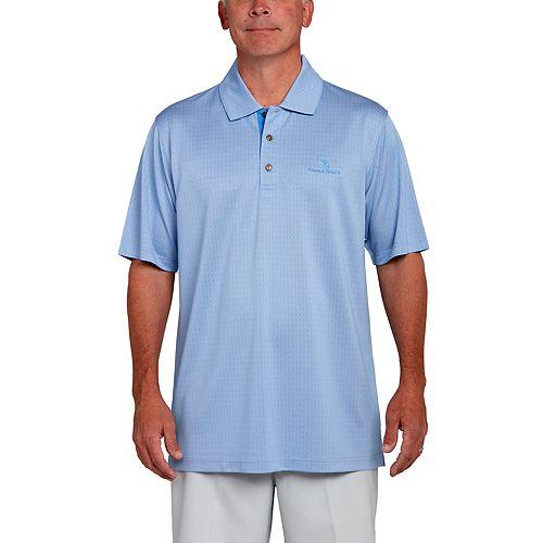 Men's Pebble Beach Classic-Fit Broken Jacquard Performance Golf Polo