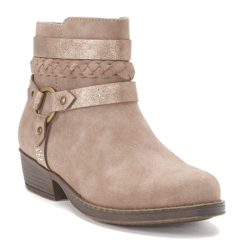 SO® Dakota Girls' Ankle Boots