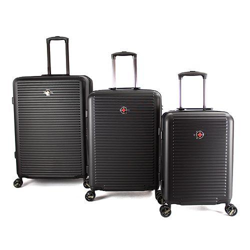 Proton Surge 3-Piece Hardside Spinner Luggage Set