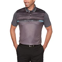 Men's Grand Slam On Course Regular-Fit Space Dye Performance Golf Polo