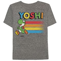 Boys 4-10 Jumping Beans® Nintendo Super Mario Bros. Yoshi Heathered Graphic Tee