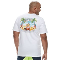 Big & Tall Cotton Links 'The Ultimate Happy Hour' Tee
