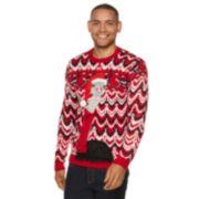Men's Ostrich Christmas Sweater