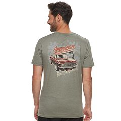Men's Cotton Links 'American Performance Shop' Car Graphic Tee