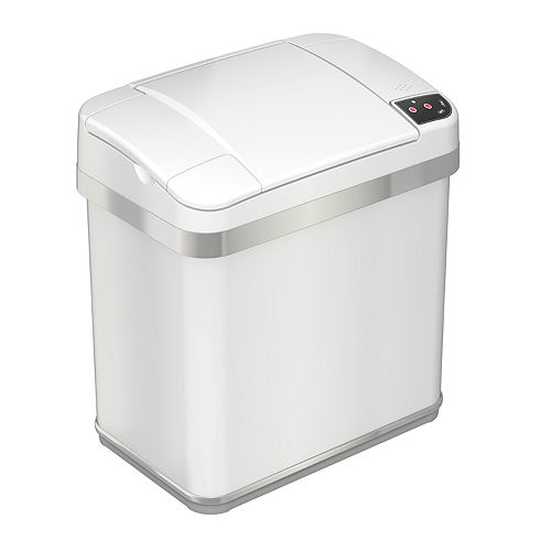 iTouchless Halo Multi-Function 2.5-gallon Trash Can