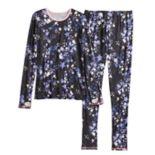 Girls 4-16 Cuddl Duds Top & Bottoms Set