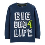 "Toddler Boy Carter's ""Big Bro 4 Life"" Graphic Tee"