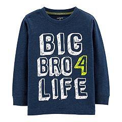 Toddler Boy Carter's 'Big Bro 4 Life' Graphic Tee