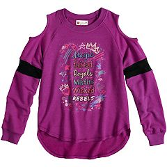 Disney's D-Signed Descendants 2 Girls 7-16 Graphic Varsity Top