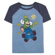 Boys 4-10 Jumping Beans® Nintendo Mario Bros. Luigi Graphic Tee
