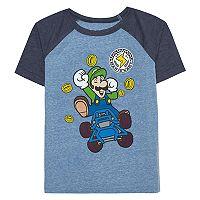 Boys 4-10 Jumping Beans® Nintendo Luigi Kart Tee
