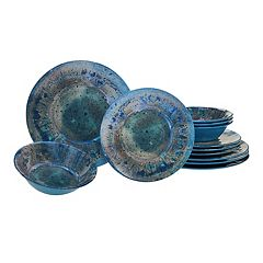 Certified International Radiance 12-piece Melamine Dinnerware Set