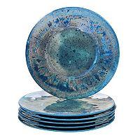 Certified International Radiance 6-piece Melamine Dinner Plate Set