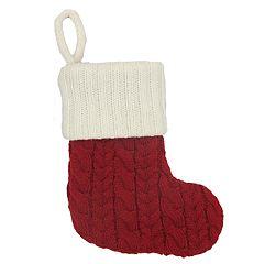 St. Nicholas Square® 8-in. Knit Monogram Christmas Stocking