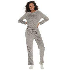 Women's Be Yourself 3-piece Cozy Fleece Pajama Set