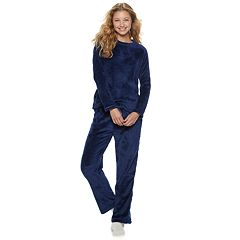 Women's Be Yourself 3-piece Cozy Fleece Pajama Set