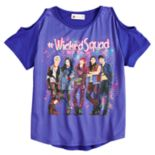 "Disney's D-Signed Descendants 2 Girls 7-16 ""#WickedSquad"" Cold-Shoulder Tee"