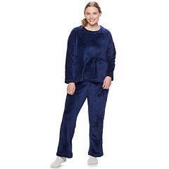 Plus Size Be Yourself 3-piece Cozy Fleece Pajama Set