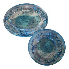 Certified International Radiance Melamine Serving Platter Set