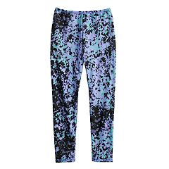 Girls 4-16 Cuddl Duds Plush Leggings