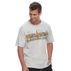 Men's Cotton Links Parrot Tropical Tee