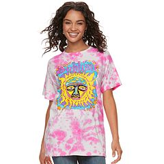 Juniors' Sublime Logo Tie-Dye Graphic Tee