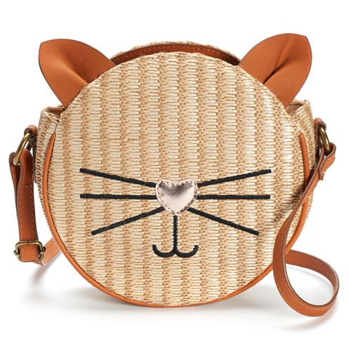 ae273725df7c T-Shirt   Jeans Cat Straw Tambourine Crossbody Bag