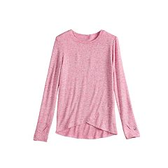Girls 4-16 Cuddl Duds Soft Tulip Hem Top