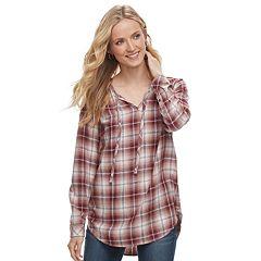 Women's SONOMA Goods for Life™ Splitneck Tunic