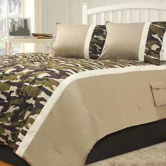 Riverbrook Home Camo Camp Comforter Set
