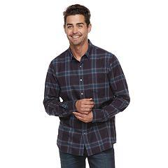 Men's Apt. 9® Brushed Flannel Button-Down Shirt