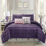 Riverbrook Home Textured 5-piece Comforter Set