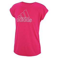 Girls Pink T-Shirts Active Big Kids Short Sleeve  13b04ebaf