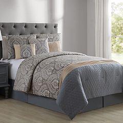 VCNY Home Marjorie 7-piece Jacquard Comforter Set