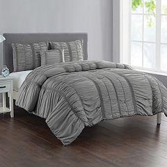 VCNY Home Holly Technique 4-piece Comforter Set