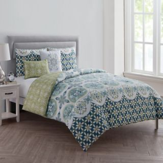 VCNY Home Vandeliss Printed Comforter Set