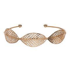 LC Lauren Conrad Leaf Cuff Bracelet