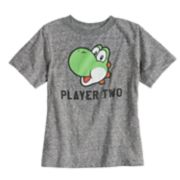 Toddler Boy & Girl Dad & Me Player Two Yoshi Graphic Tee