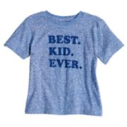 Toddler Boy & Girl Dad & Me Best Kid Ever Graphic Tee
