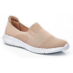 Henry Ferrera Women's Casual Knit Slip-On Sneakers