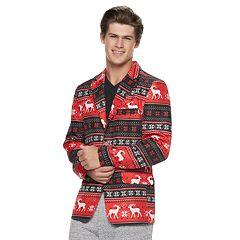 mens reindeer striped christmas blazer - Christmas Jackets