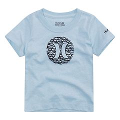 Baby Boy Hurley Wave Logo Graphic Tee