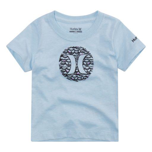 Baby Boy Hurley Wave Logo Graphic Tee
