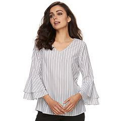 Women's Apt. 9® Tiered Bell Sleeve Top