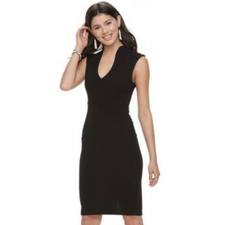 Juniors' Almost Famous Sleeveless Bodycon Dress