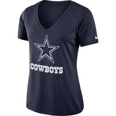Women's Nike Dallas Cowboys Dri-FIT Touch Tee