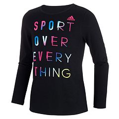 Girls 7-16 adidas 'Sport Over Everything' Graphic Long Sleeve Tee