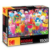 Kodak Premium Puzzles 1500-Piece Sugary Shakes Puzzle